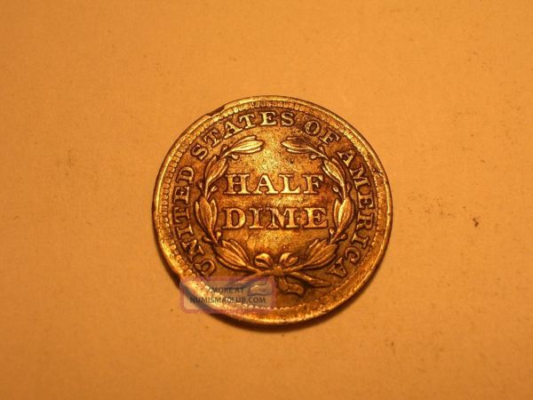 1854 Seated Liberty Dime Xf Au & Attractive