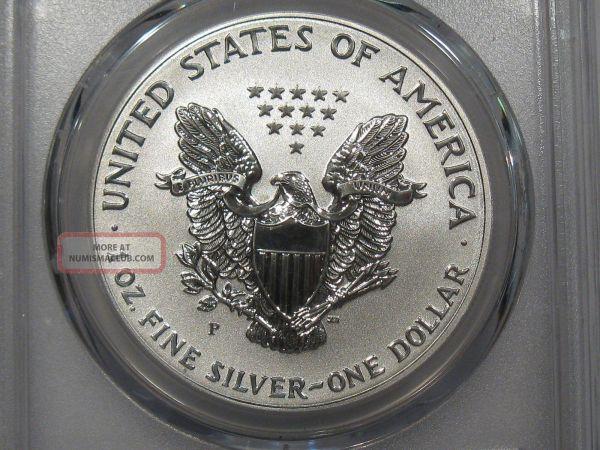 2006 - Reverse Proof Pcgs Pr69 American Silver Eagle