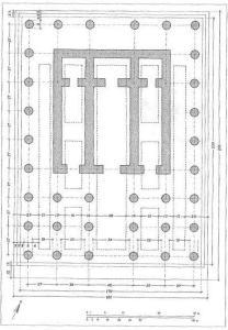 Fig. 7 - proposta di planimetria voluta da Mura Sommella;