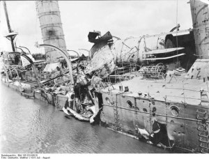 Königsberg affondato