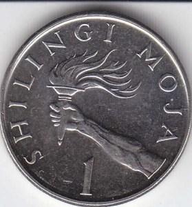 Moneta da 1 Scellino (foto da collezione personale) B