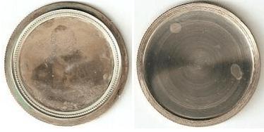 5 lire italiane 1848 Governo Provvisorio di Lombardia chiuso e aperto con immagine del maresciallo Radetzky