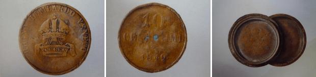 10 centesimi 1849, Milano