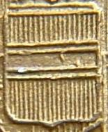 Figura 11: scudetto con due punti, caratteristico dei talleri di Maria Teresa coniati dalla zecca di Vienna dal 1900 al 1945/50.