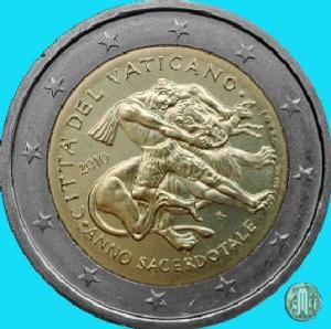 2010 – Anno Sacerdotale (fonte: Lamoneta.it).