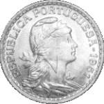 moeda de 1 escudo no estado fdc