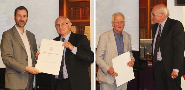 Honorary Fellowships 2014