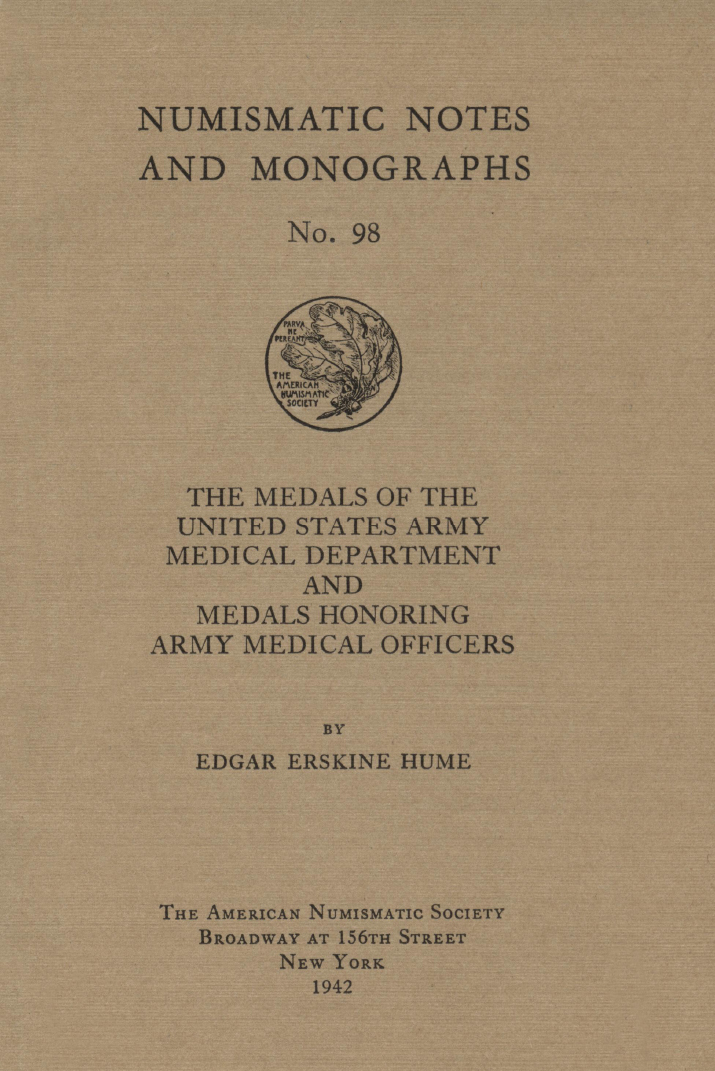 ANS Digital Library Medals of the United States Army