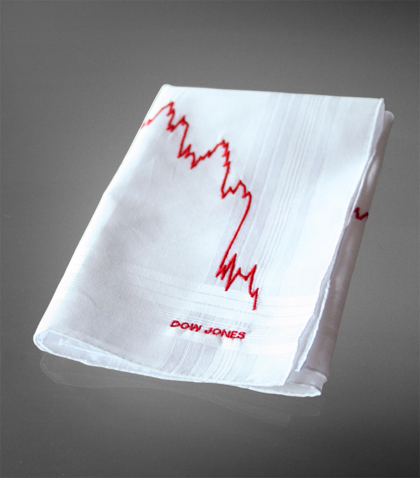 design glut_dow jones hanky
