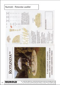Numold - Moulds for Concrete Products - ABS Price List Page 23 - Rotunda Leaflet