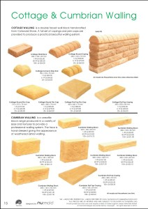 Numold - Moulds for Concrete Products - PU Price List Page 15 - Cottage & Cumbrian Walling