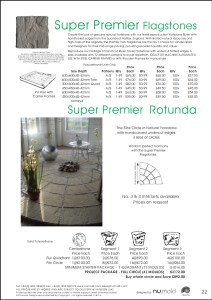 Numold - Moulds for Concrete Products - PU Price List Page 22 - Super Premier Flagstones & Rotunda