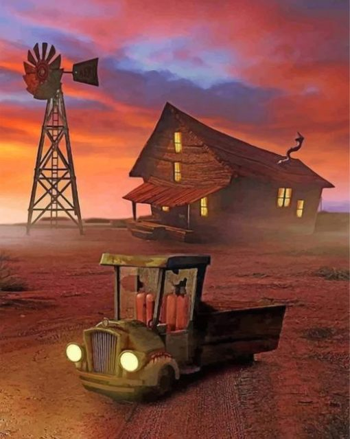 Courage The Cowardly Dog House : courage, cowardly, house, Courage, Cowardly, House, Paint, Number, NumPaint, Numbers
