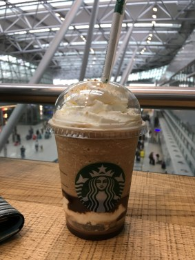 Mal was anderes: Ein Kaffeegetränk von Starbucks: Chocolate Marshmallow S'mores Frappuccino