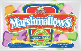 Fruchtig-bunte Marshmallows von Guandy