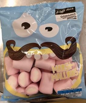 Hübsche Marshmallow-Tüte von Pingo Doce / Pipoca - gefunden in Portugal.