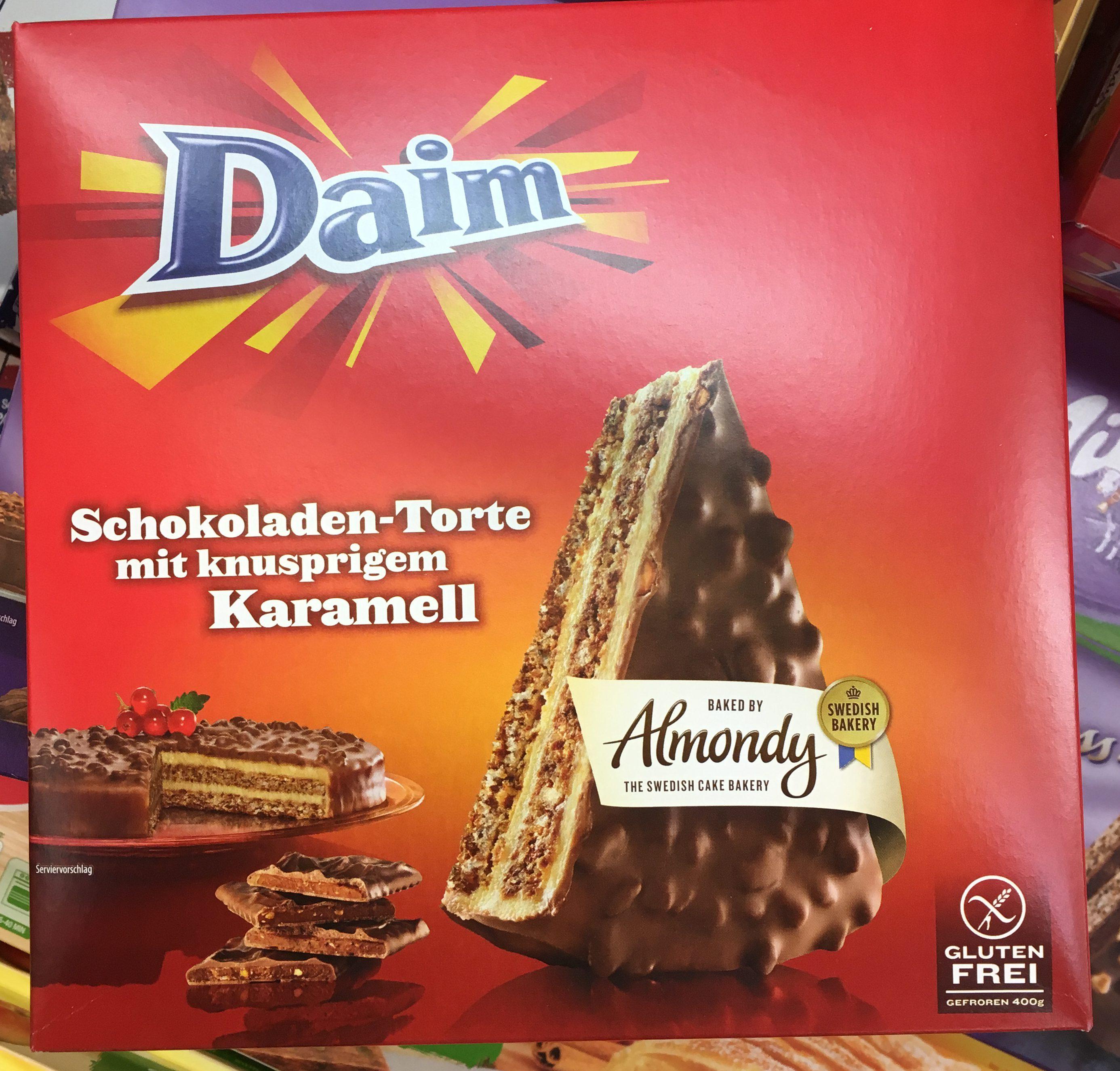 Daim Almondy Schokoladentorte  Naschkater