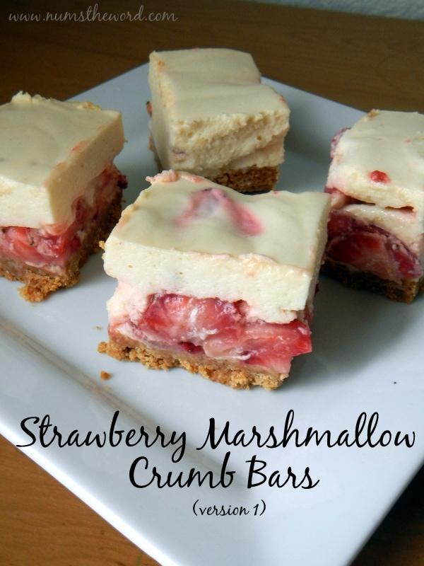 Strawberry Marshmallow Crumb Bars #1