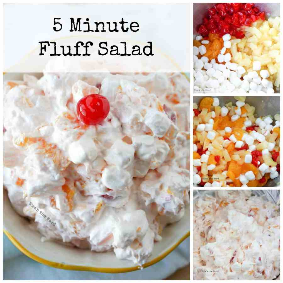 5 Minute Fluff Salad - Num's the Word