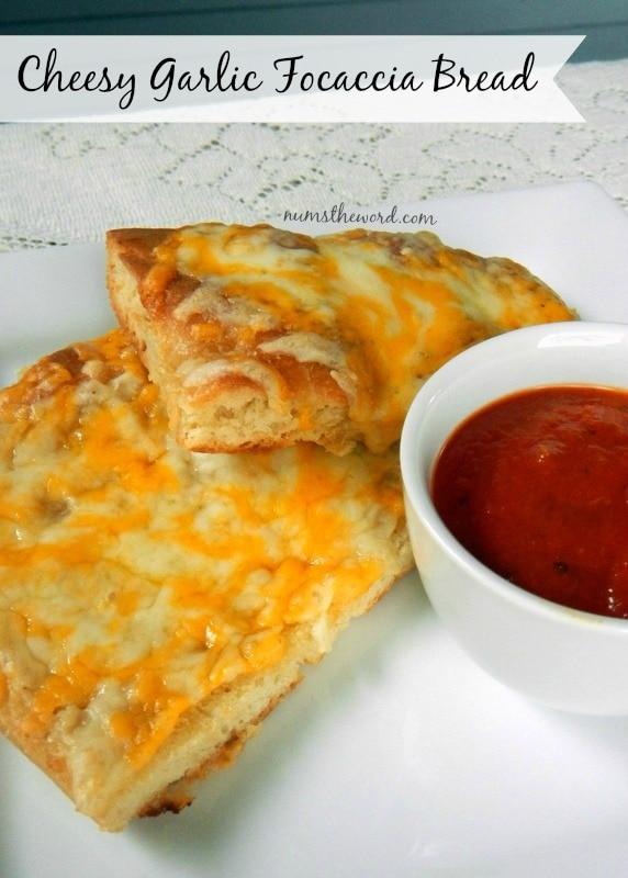 Cheesy Garlic Focaccia Bread