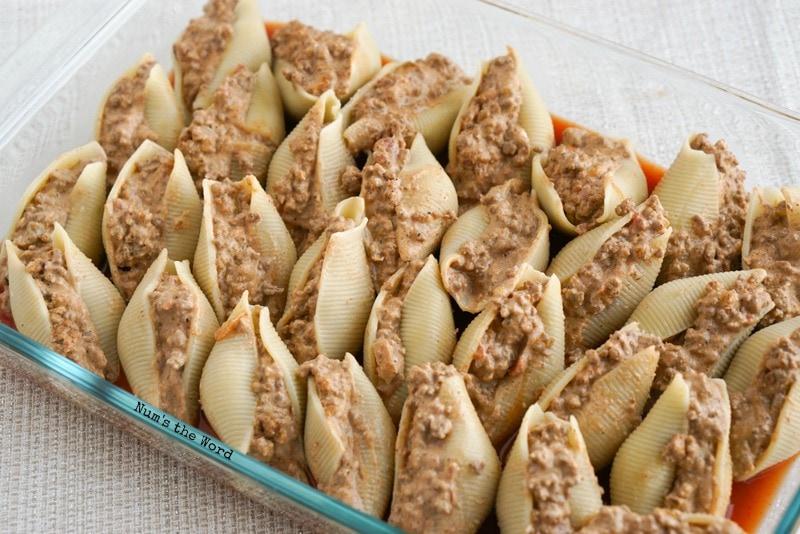 Mexican Stuffed Shells