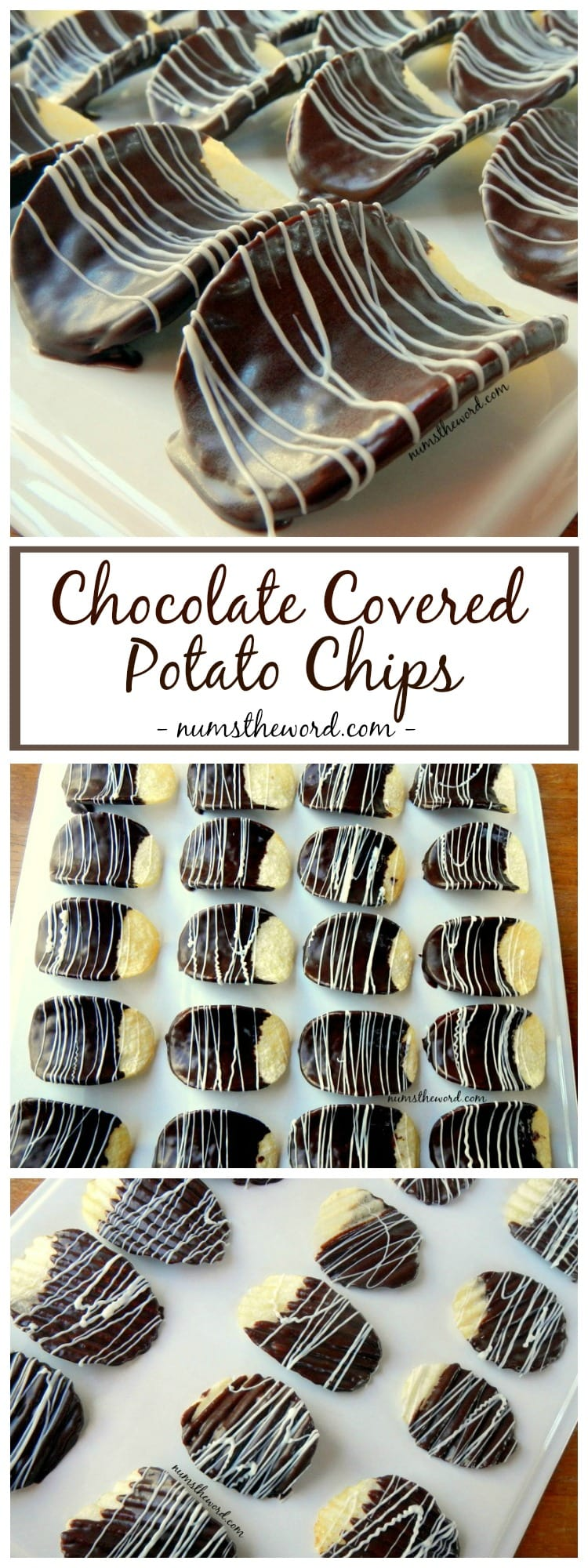 Chocolate Covered Pringles - NumsTheWord