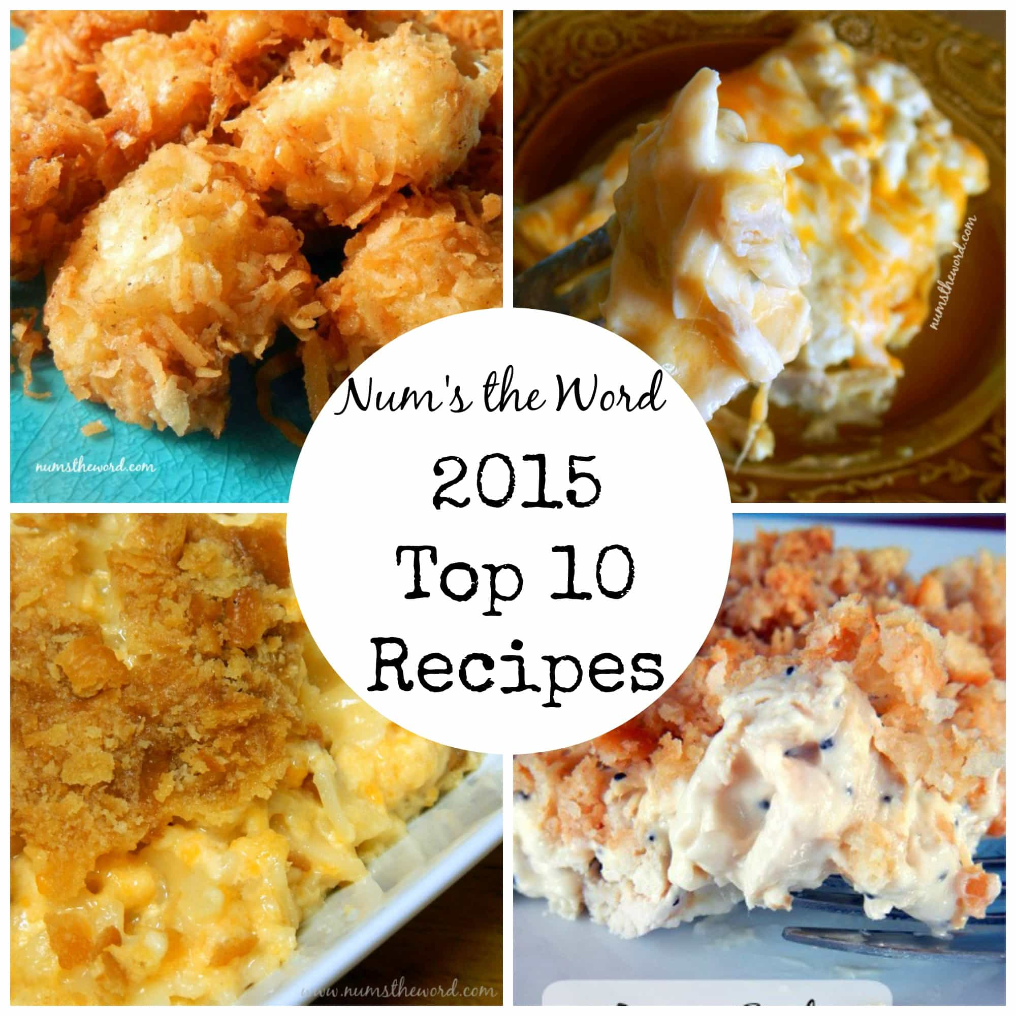 2015 Top 10 Recipes