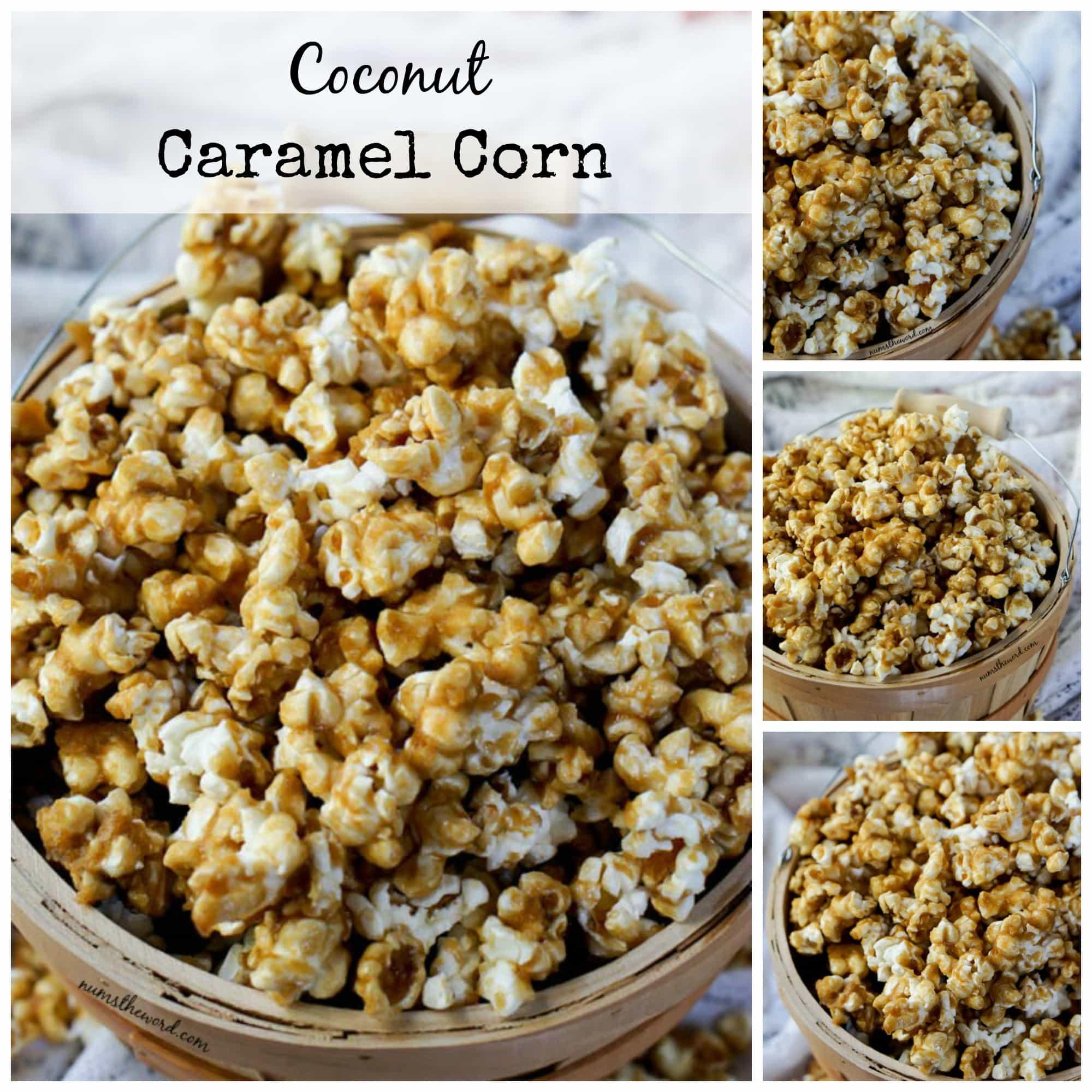 Coconut Caramel Corn - Num's the Word