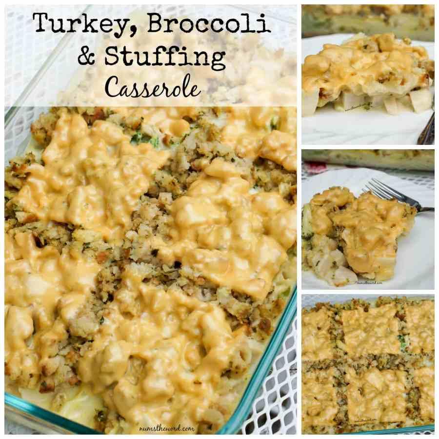 Turkey, Broccoli & Stuffing Casserole