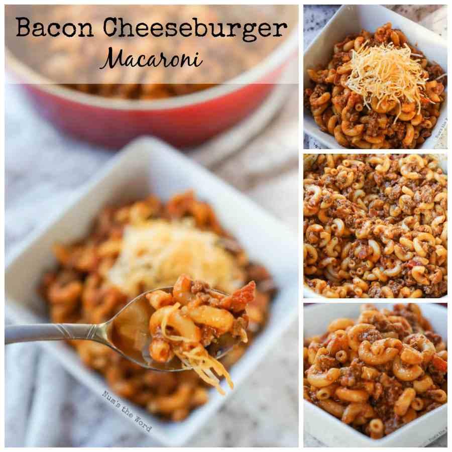 Bacon Cheeseburger Macaroni