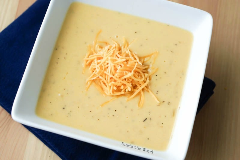 Onion Cheddar Soup