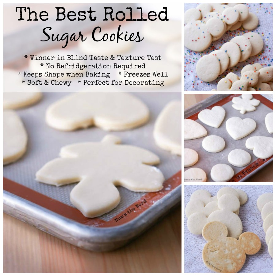 The Best Rolled Sugar Cookies Num S The Word