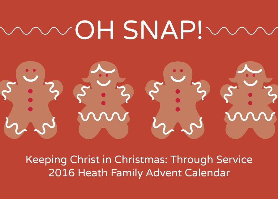 2016 Keeping Christ in Christmas