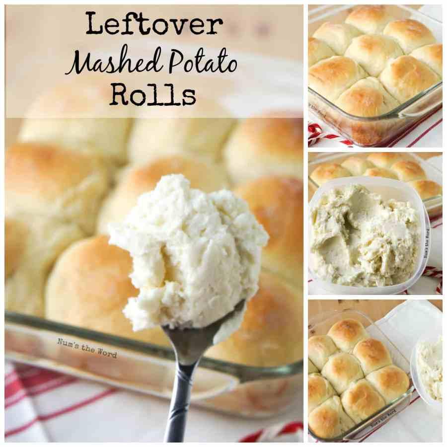 Leftover Mashed Potato Rolls