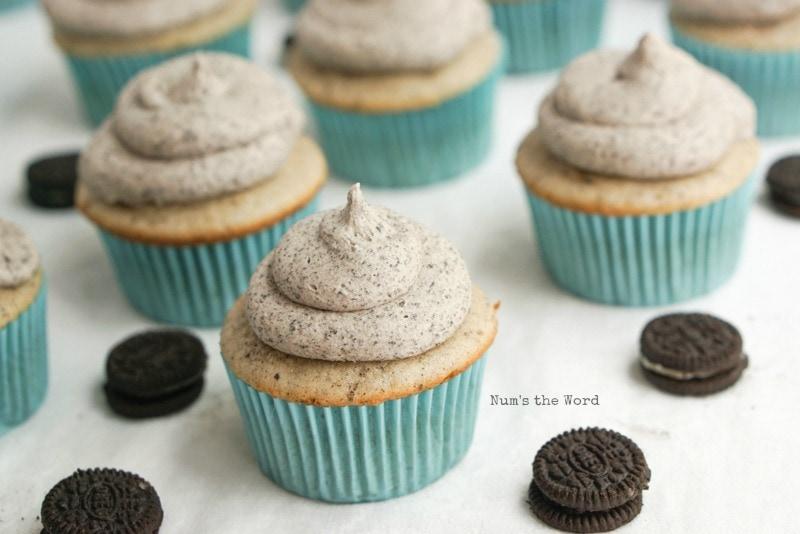 Cookies & Cream Cupcakes -