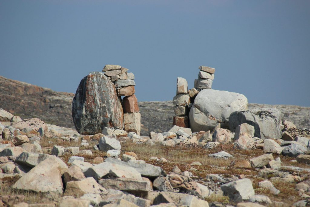 Aklungirtautitalik (or Gate City) at Ukkusiksalik National park, Nunavut