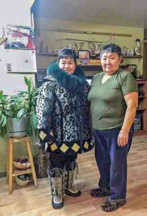 Liza Ningiuk - submitted by daughter Susie Qaunaq<br /> Grise Fiord<br /> My mom Liza Ningiuk from Grise Fiord. She made my parka and kamiks.