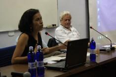 Marilene de Paula, da Fundação Heinrinch-Böll moderou o encontro - Foto Julia Dócolas