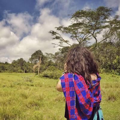 Sara en Arusha