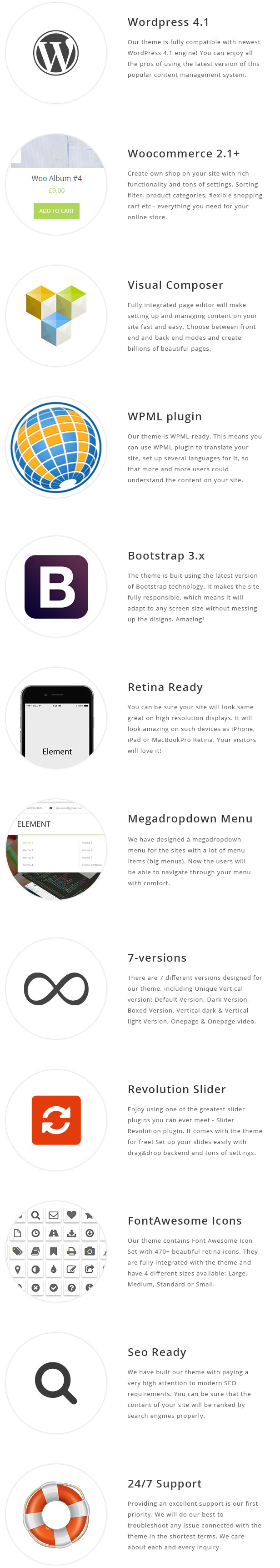 Element - Multipurpose WordPress Theme - 1