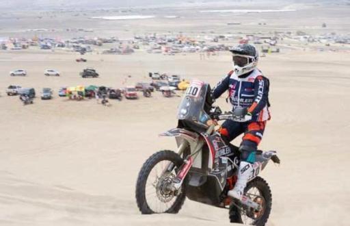 Sebastian Bühler já cumpriu metade do Dakar