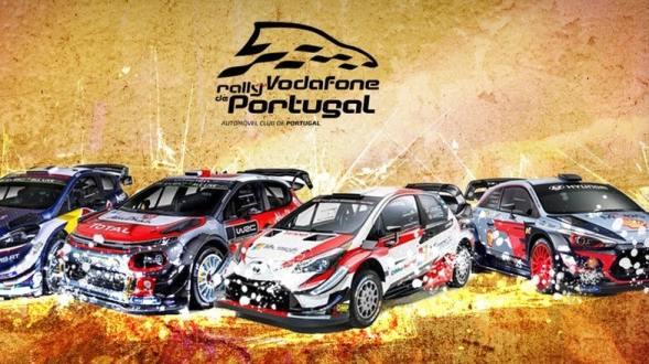 Lista de inscritos Vodafone Rallye de Portugal