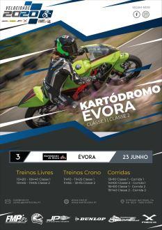 Iniciação á velocidadechega a Évora