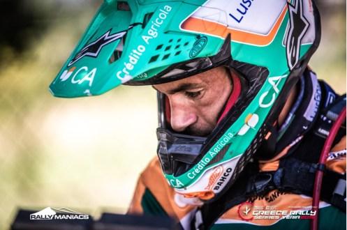 Mário Patrão em KTM conquista pódio na Grécia