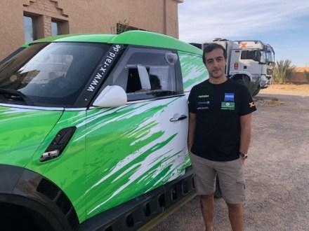 Helder Oliveira testou em Marrocos o Mini X-Raid