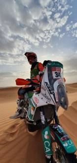 Mário Patrão com KTM Factory Racing no Rallye du Maroc