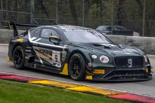Álvaro Parente procura títulos para Bentley e K-PAX Racing
