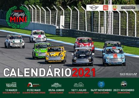 Apresentado o calendário da 5ª Edição do Trofeu Mini com provas de Endurance