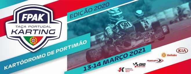 Taça de Portugal de Karting 2020 disputa-se no próximo fim de semana em Portimão