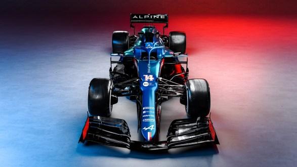 EQUIPA ALPINE F1 DESVENDA A ÉPOCA DE 2021